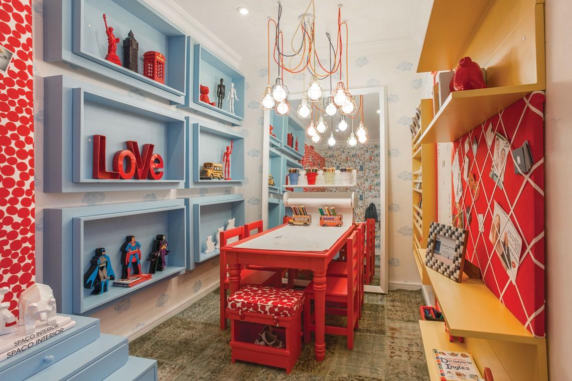 Interior colorido